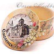 Для дома и интерьера handmade. Livemaster - original item Box Smolensk. Handmade.