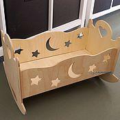 Кровати ручной работы. Ярмарка Мастеров - ручная работа Кровати: Кукольная кроватка. Handmade.