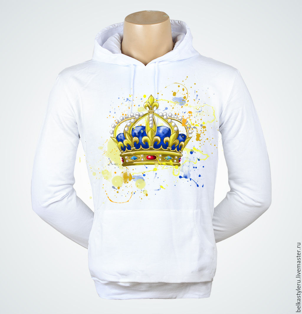 T-shirt design handmade - T Shirts Singlets Handmade T Shirt Hand Painted Crown Belkastyle