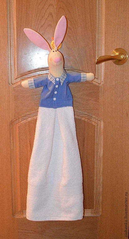 Зайка-полотенце, Игрушки, Мурманск, Фото №1