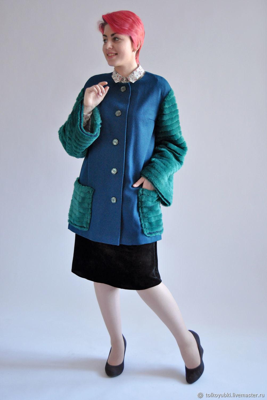Winter coat suit fur, Coats, Novosibirsk,  Фото №1