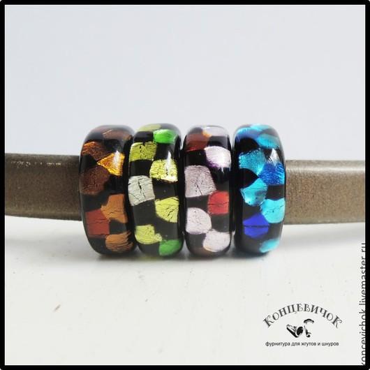 Для украшений ручной работы. Ярмарка Мастеров - ручная работа. Купить Регализ стекло пятна 4 цвета Испания. Handmade.