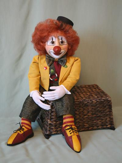 Коллекционные куклы ручной работы. Ярмарка Мастеров - ручная работа. Купить Кукла Клоун. Handmade. Авторская кукла, единственный экземпляр