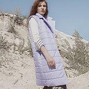 Одежда handmade. Livemaster - original item The Diva vest women`s-insulated. Handmade.