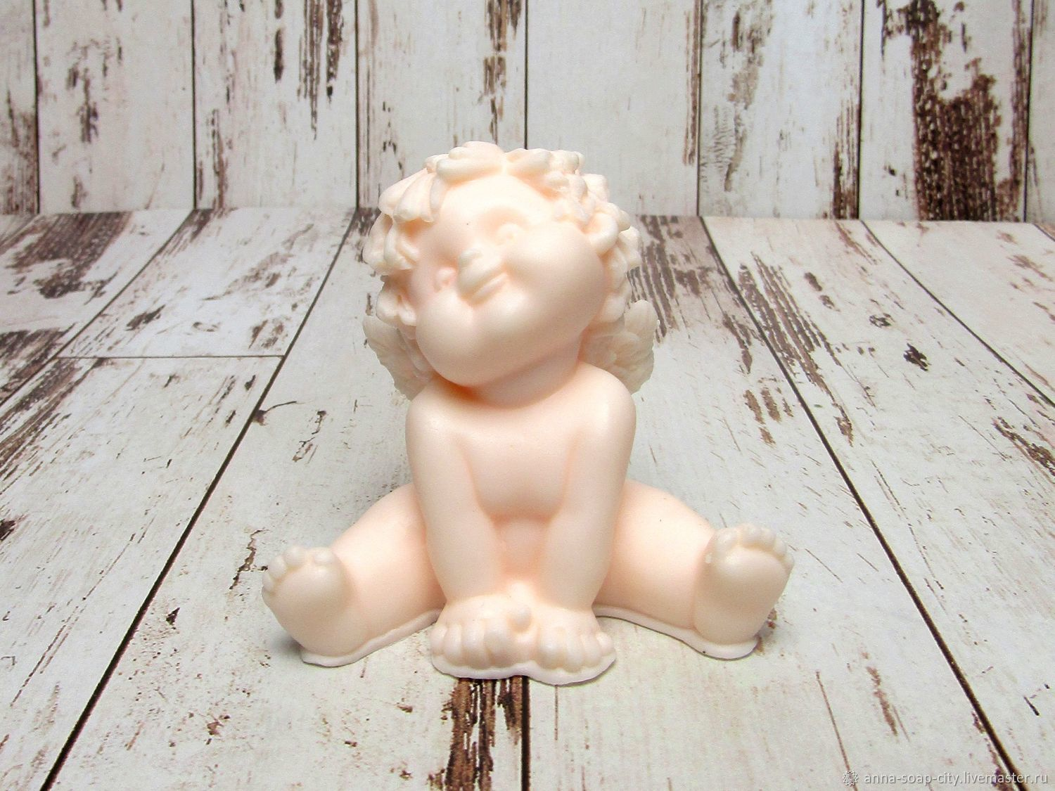 Silicone mold for soap and candles ' Cute angel', Form, Arkhangelsk,  Фото №1