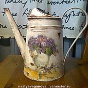 Цветы и флористика ручной работы. Ярмарка Мастеров - ручная работа лейка. Handmade.