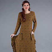 Одежда ручной работы. Ярмарка Мастеров - ручная работа Авторское вязаное платье. Handmade.