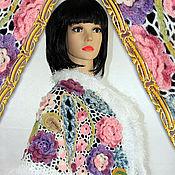 Одежда handmade. Livemaster - original item Knitted poncho-Cape crochet fairy Tale.. Handmade.