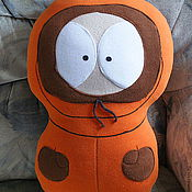 Для дома и интерьера ручной работы. Ярмарка Мастеров - ручная работа Игрушка-подушка Кенни. Handmade.