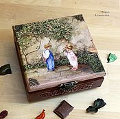 Для дома и интерьера handmade. Livemaster - original item In my grandmother`s garden box. Handmade.