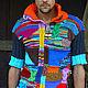 Кофты и свитера ручной работы. Ярмарка Мастеров - ручная работа. Купить полурукавка универсальная. Handmade. Жилет, шерсть