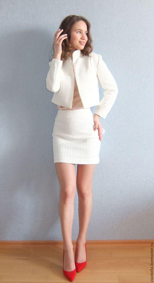 """Костюмы ручной работы. Ярмарка Мастеров - ручная работа. Купить Костюм  """"So sweet..."""". Handmade. Белый, белый костюм"""