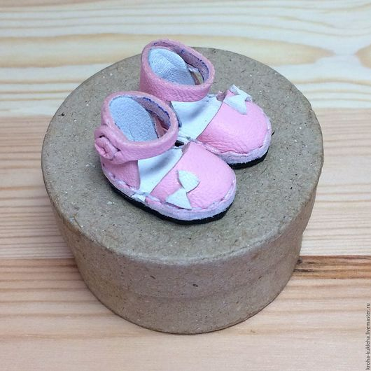 """Куклы и игрушки ручной работы. Ярмарка Мастеров - ручная работа. Купить Туфельки для Блайз """"Розовые"""". Handmade. Бледно-розовый"""