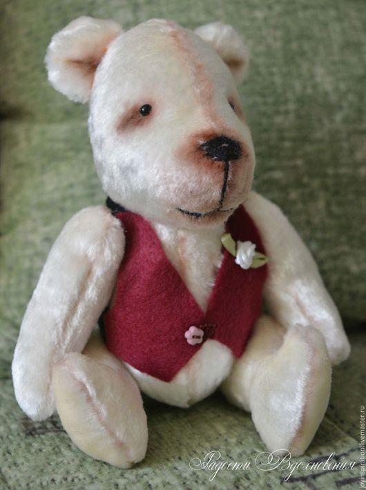 Мишки Тедди ручной работы. Ярмарка Мастеров - ручная работа. Купить Плюшевый мишка тедди. Handmade. Комбинированный, мишка тедди