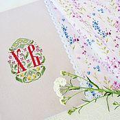 Для дома и интерьера handmade. Livemaster - original item Hand-embroidered napkin