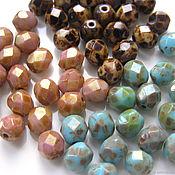 Материалы для творчества handmade. Livemaster - original item Beads Czech glass 6mm 3 colors. Handmade.
