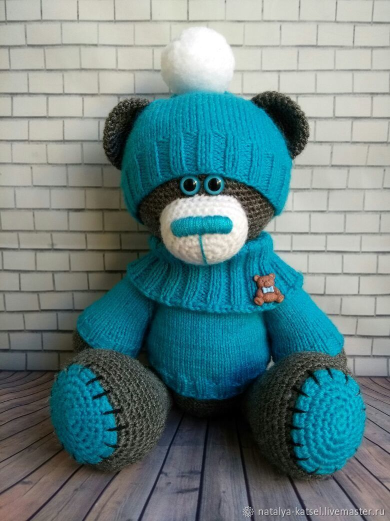 Мишка Тедди, Мягкие игрушки, Санкт-Петербург,  Фото №1