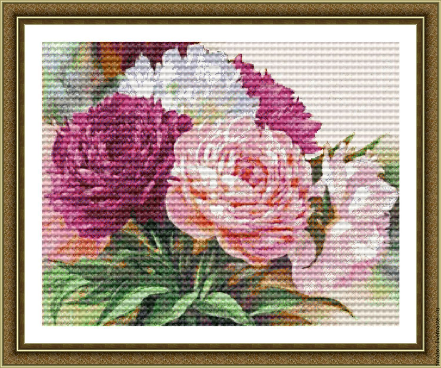 PEONIES symbolize a burning passion and undying love.