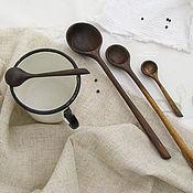 Посуда ручной работы. Ярмарка Мастеров - ручная работа Ложечки деревянные. Handmade.