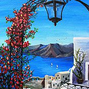 Картины и панно ручной работы. Ярмарка Мастеров - ручная работа Греция. Handmade.