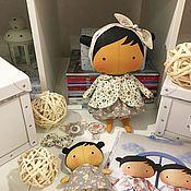 Куклы и игрушки ручной работы. Ярмарка Мастеров - ручная работа Милашка Тильда №1. Handmade.