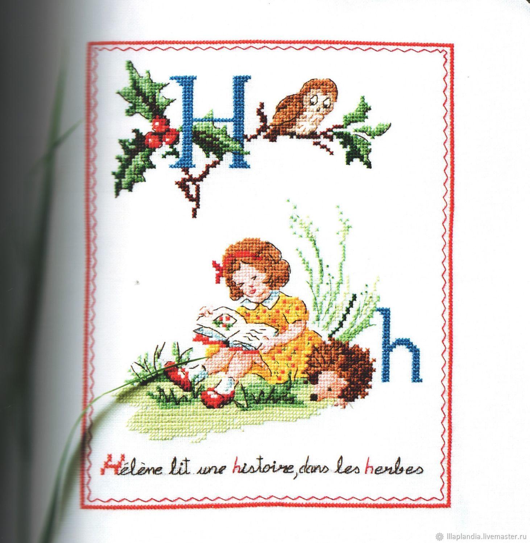 Детские схемы для вышивания крестом 25 штук, детские схемы для 84