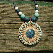 Кулон Звезда моря Керамика