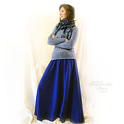 Одежда handmade. Livemaster - original item Skirt warm the bell
