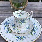 handmade. Livemaster - original item Royal Albert coffee set