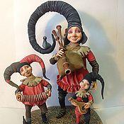 Куклы и игрушки ручной работы. Ярмарка Мастеров - ручная работа Менестрели. Handmade.