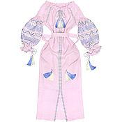 "Одежда handmade. Livemaster - original item Lilac dress ""Morning Breeze"". Handmade."