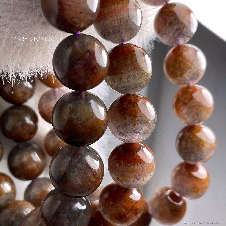 Ауралит 23 ЛЮКС кач-во А+, кварц ауралит крупные бусины 12, 13 и 14 мм, Бусины, Самара,  Фото №1