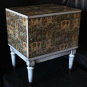 Для дома и интерьера ручной работы. Ярмарка Мастеров - ручная работа Оригинальная тумбочка. Handmade.
