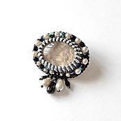 Украшения handmade. Livemaster - original item Brooch with rauchtopaz Adel, natural stone.. Handmade.