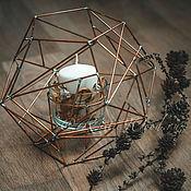 Для дома и интерьера ручной работы. Ярмарка Мастеров - ручная работа Подсвечник лампа. Handmade.