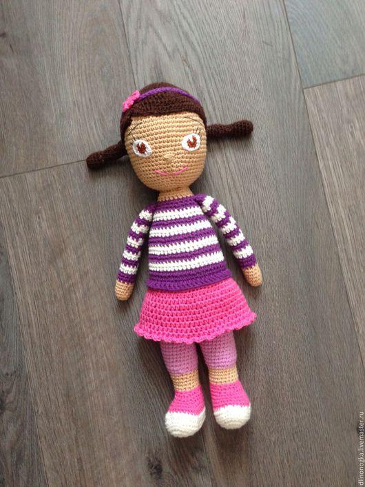 Человечки ручной работы. Ярмарка Мастеров - ручная работа. Купить Игрушка кукла Плюшевв. Handmade. Кукла, комбинированный, кукла интерьерная