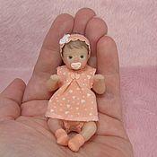 Куклы Reborn ручной работы. Ярмарка Мастеров - ручная работа 8см силиконовая малышка. Handmade.