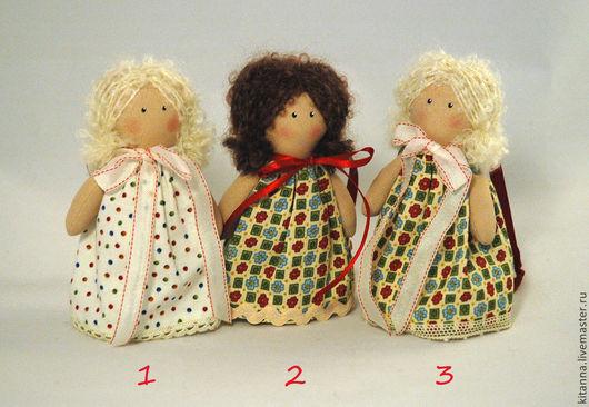 """Человечки ручной работы. Ярмарка Мастеров - ручная работа. Купить Текстильные куколки """"Разноцветные крошечки"""". Handmade. Малютка, подарок, ангелочек"""