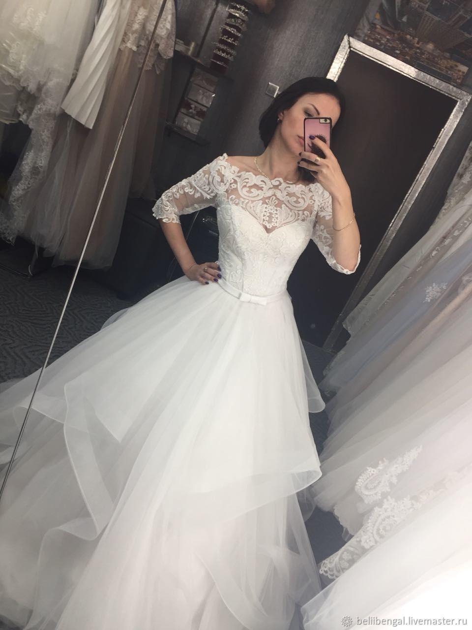 7a2c8131e53 Одежда и аксессуары ручной работы. Ярмарка Мастеров - ручная работа. Купить  Свадебные платья.