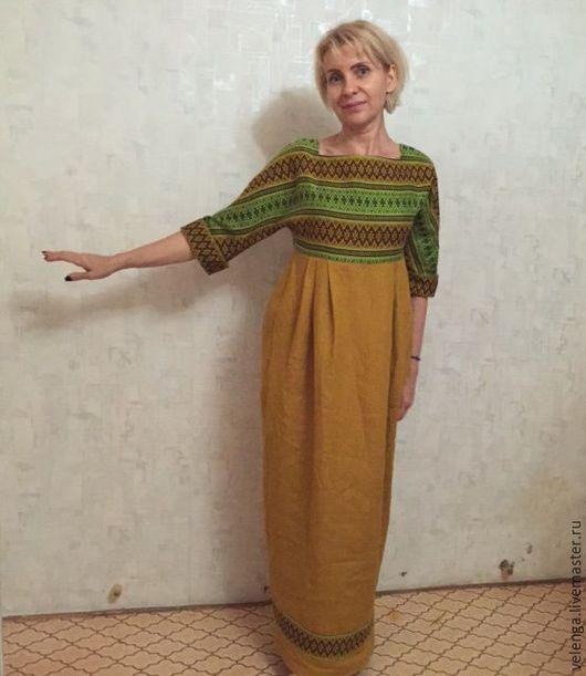 Платья ручной работы. Ярмарка Мастеров - ручная работа. Купить Платье в стиле Бохо. Handmade. Рыжий, бохо-стиль