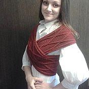 Одежда ручной работы. Ярмарка Мастеров - ручная работа Жилет-шарф трансформер. Handmade.