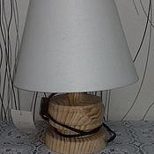 Материалы для творчества handmade. Livemaster - original item Table lamp, harvesting 112. Handmade.