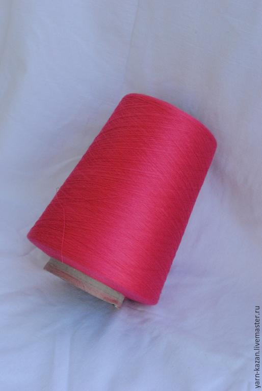 Пряжа шелк 100% Loro Piana, Италия, цвет: розово-коралловый