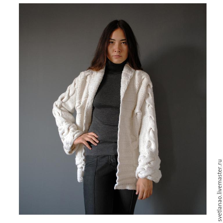 ca0918ac815 Верхняя одежда ручной работы. Ярмарка Мастеров - ручная работа. Купить  Пальто  White paradise ...