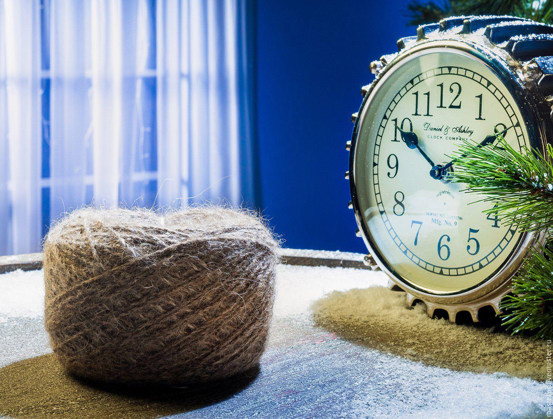 Пряжа ручного прядения  «Звезда Кавказа 265м100гр»  из пуха кавказской овчарки . Толщина : 265метров на 100грамм Пряжа тонкая .