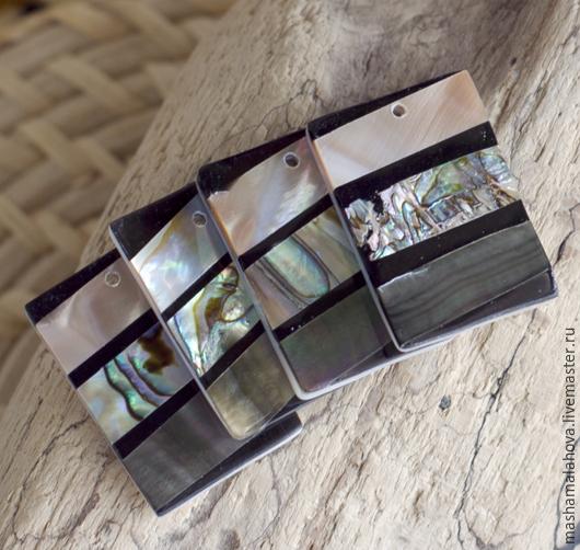 Для украшений ручной работы. Ярмарка Мастеров - ручная работа. Купить Подвески, гелиотис 32х22мм. Handmade. Разноцветный, натуральный гелиотис