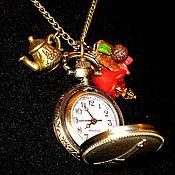 Украшения handmade. Livemaster - original item Watch-pendant