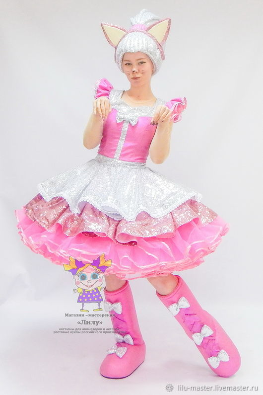 Doll Queen Of Cats. Scenic suit/Cosplay/Carnival costume, Suits, Vladivostok,  Фото №1
