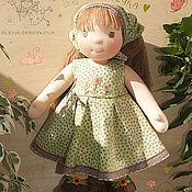 Куклы и игрушки ручной работы. Ярмарка Мастеров - ручная работа вальдорфская кукла Полечка. Handmade.