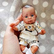 Куклы Reborn ручной работы. Ярмарка Мастеров - ручная работа Мини реборн из полимерной глины малыш Александр. Handmade.